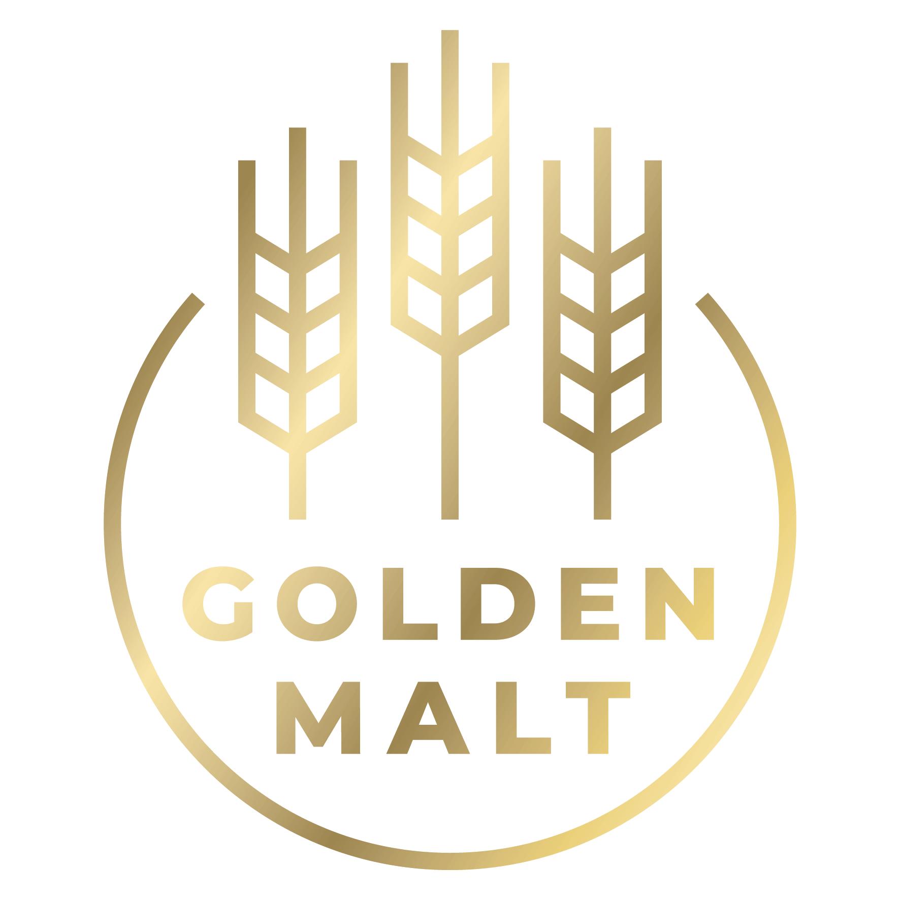 Golden Malt logo.