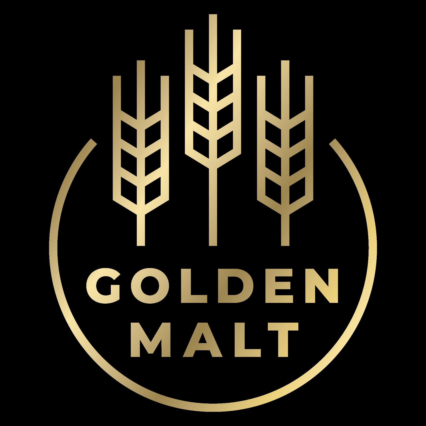 Golden Malt logo.